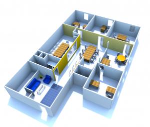 appleton coworking space floorplan